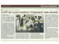 Découverte de la capoeira pour les élèves de l'ILCP - Avril 2014