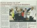 Carnaval brésilien pour les élèves adultes - Février 2014