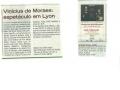 Concert de Vinicius de Moraes - Mars 2011