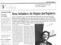 La défense de la langue portugaise - Novembre 2003