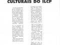 Les manifestations culturelles de l'ILCP - Décembre 1996