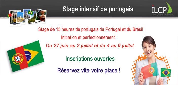 Réservez votre stage intensif de 15 heures en portugais !