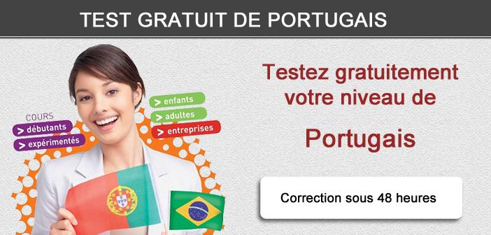 Test gratuit de portugais