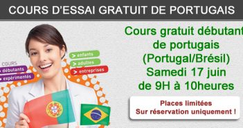 Cours gratuit de portugais juin 2017