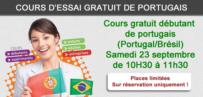 cours gratuit portugais d butant portugal br sil le 23 09. Black Bedroom Furniture Sets. Home Design Ideas