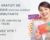 Cours gratuit de portugais le lundi 29 janvier