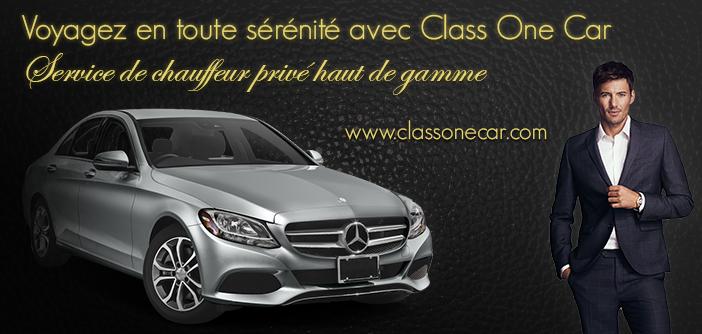 Class One Car, service de chauffeur privé haut de gamme