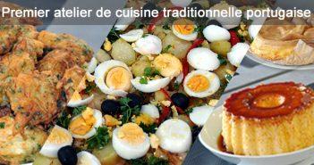 Premier atelier de cuisine traditionnelle portugaise de l'ILCP