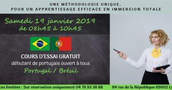 ilustration dans le slider, pour les cours d'essai de portugais à L'ILCP