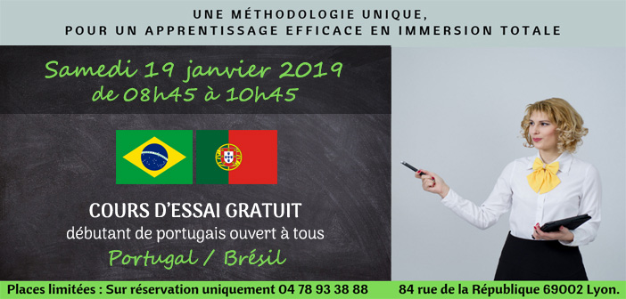 illustration pour le cours d'essai de portugais débutant