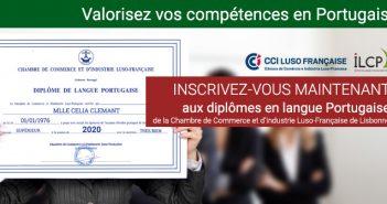 Valorise vos compétences en portugais avec le diplôme de la CCILF et l'ILCP
