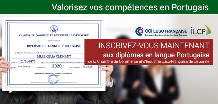 Valorisez vos compétences en portugais avec le diplôme de la CCILF et l'ILCP
