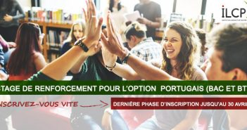 illustration stage de renforcement option Portugais au BAC et BTS