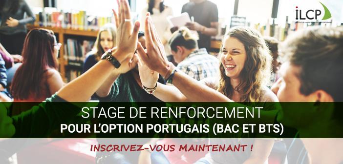 stage de renforcement option portugais au BAC et BTS avec l'ILCP