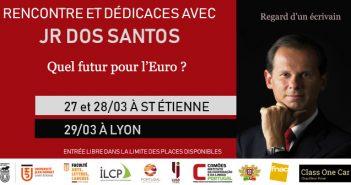 rencontre et dédicaces avec JR dos Santos à Lyon et St Etienne