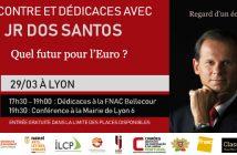 illustration rencontre et conférence avec JR dos Santos à Lyon