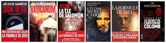 livres de JR dos Santos