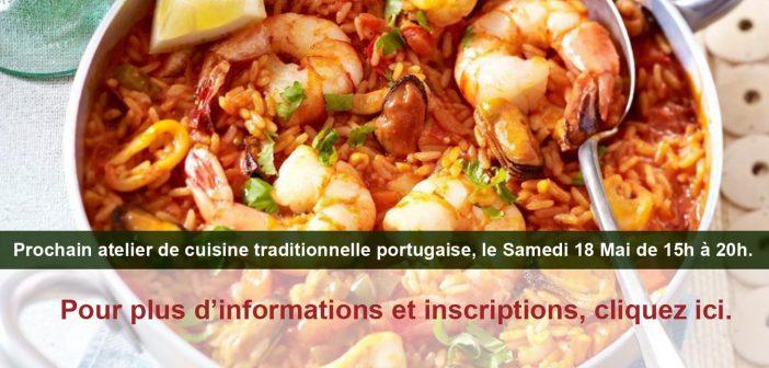 Atelier de cuisine traditionnelle portugaise – Mai 2019