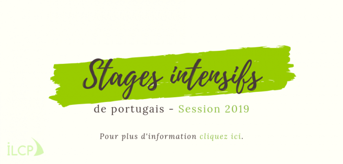 Stage intensif de portugais session 2019
