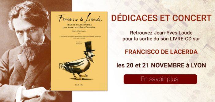 Concert et dédicaces à Lyon en hommage à Francisco de Lacerda