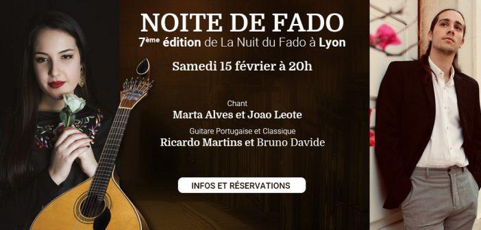 7° édition de la nuit du Fado   samedi 15 février à 20h