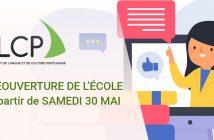 Réouverture de l'école ILCP à partir de samedi 30 mai