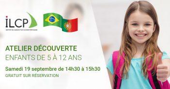 atelier decouverte langue portugaise de l'ILCP pour enfant de 5 à 12 ans