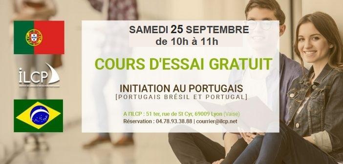 Initiez-vous au portugais avec notre cours d'essai gratuit.