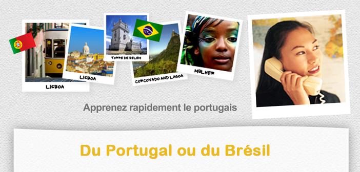 Apprenez rapidement le portugais